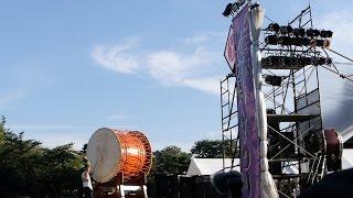 「鼓童」をゲストに迎え、7月25、26日に行われた太鼓まつりです。 動画撮...