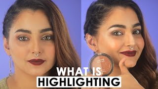 How To Highlight Like A Pro (Hindi)   Perfect Face Makeup Tutorial For Beginners   Be Beautiful