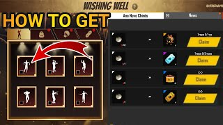 How To Complete Wishing Well Event || Free Fire New Event,Get Robo Screen,Emote,Samurai Bundle