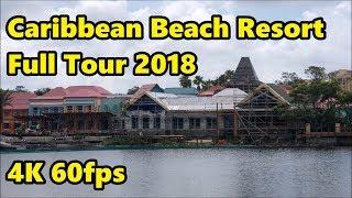 Disney's Caribbean Beach Resort - Full Tour & Construction Update - 4K 60fps thumbnail