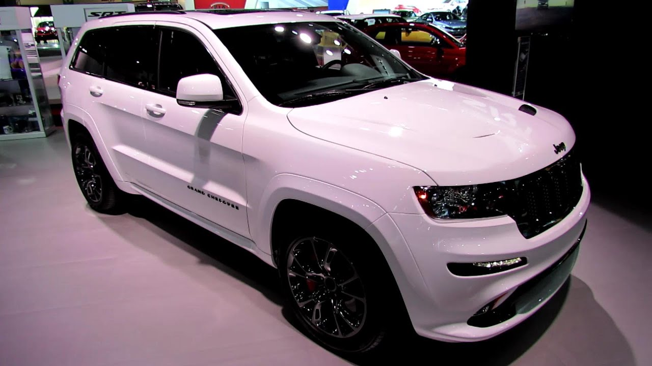2013 Jeep Grand Cherokee SRT8   Exterior And Interior Walkaround   2012 Los  Angeles Auto Show