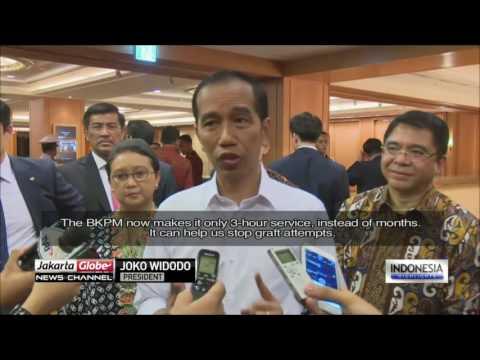 Jokowi On A Working Visit To South Korea