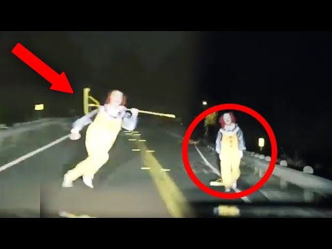 Thumbnail: Top 15 SCARIEST Clown Videos Caught on Camera! (Creepy Killer Clown Sightings)