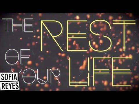 Sofia Reyes - Conmigo [Rest of Your Life] (Official Lyric Video)