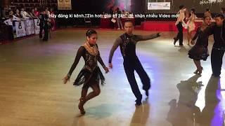 Đăng Quân - Bảo Ngọc tỏa sáng trong Giải vô địch khiêu vũ thể thao quốc tế Hà Nội mở rộng 2017