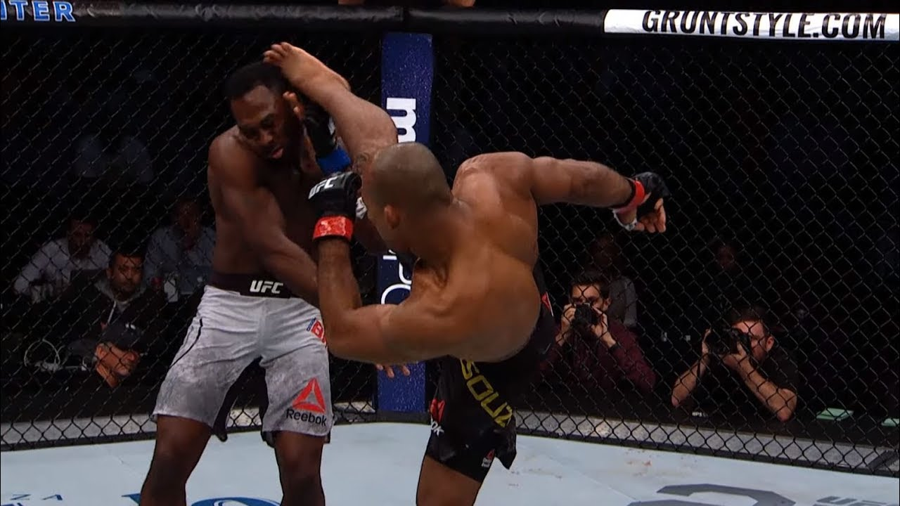 Jacare Souza Top 5 Finishes