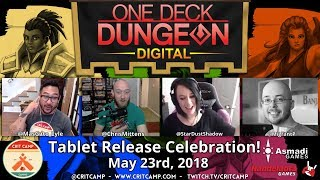 One Deck Dungeon Digital - Tablet Release! - Crit Camp