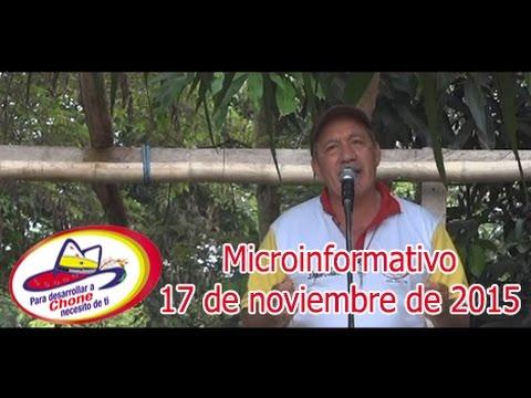Microinformativo 17 noviembre 2015