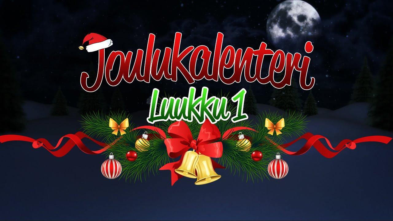 The Joulukalenteri Luukku 1