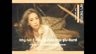 [KARAOKE-THAISUB] KIM TAEYEON (태연) (FEAT. VERBAL JINT) - I (아이)