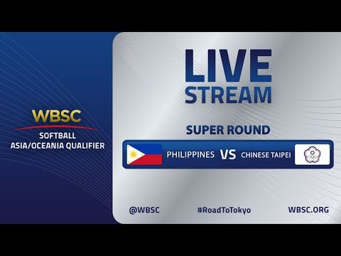 Philippines V Chinese Taipei - WBSC Softball Asia/Oceania Qualifier - Super Round