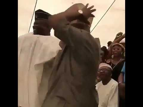The newly elected senator Adeleke from Osun State digging it 💃💃💃