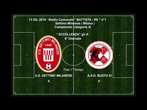 13 -10-19  U.S.Highlights Settimo Milanese   A.S.D.  Busto 81- 2 - 0