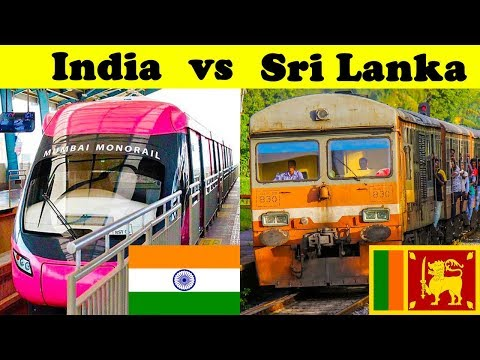Indian Railways vs Sri Lankan railways (2018)