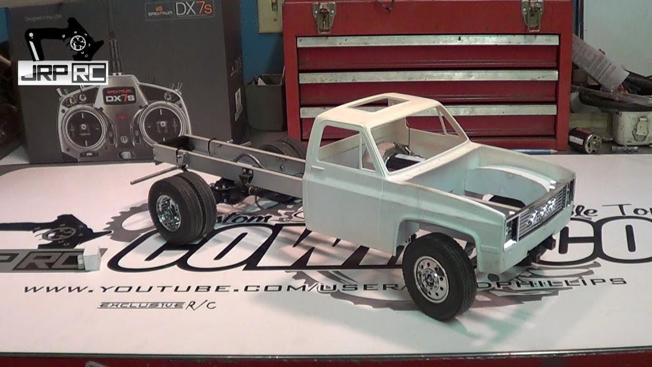 JRP RC - The 2WD Chevy Work Truck Build Update 1 - YouTube