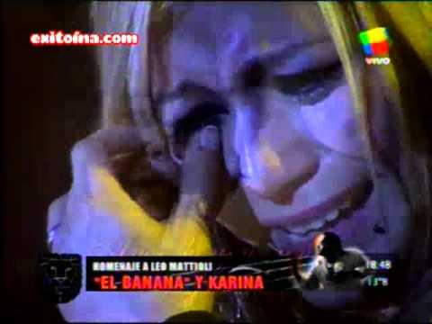 Exitoina.com - Karina y El Banana homenaje a Leo Mattioli