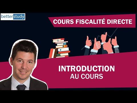COURS de FISCALITÉ Suisse - INTRODUCTION - Brevet fédéral Spécialiste en finance et comptabilité