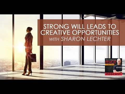 Strong Will Leads To Creative Opportunities With Sharon Lechter