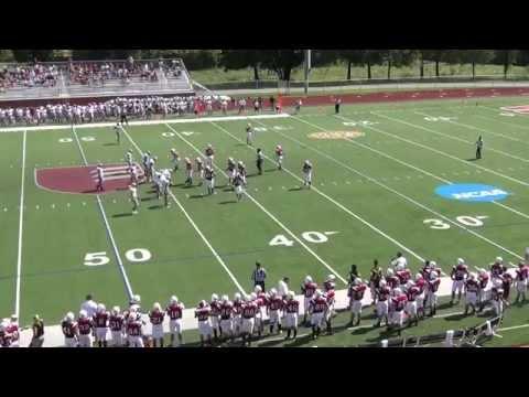 Team Klausing Carnegie Mellon Wing-T Football Camp 2013 Part I