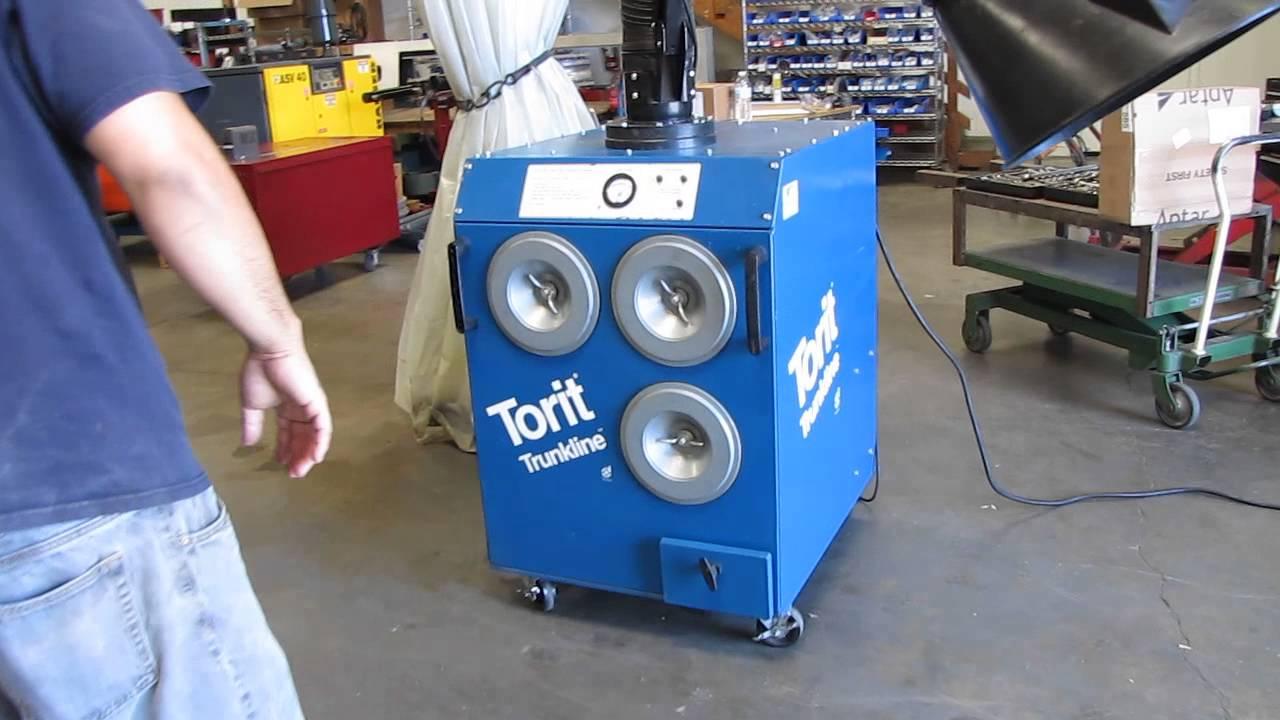 Donaldson Torit Trunkline Welding Fume Collector Extractor