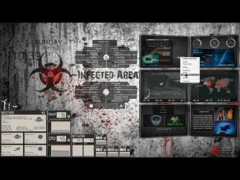 Rainmeter - Pretty Red Toy Theme - HD | Doovi
