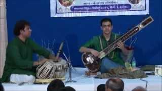 Sweekar Katti (Sitar) with Satyajit Talwalkar (Tabla) Raag Bhimpalasi 2