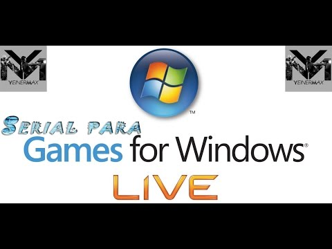 Serial para Games For Windows Live 2016