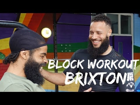 Brixton London Street Gym Block Workout