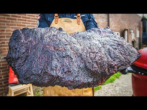How To Smoke A Giant BRISKET