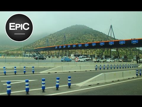 Ruta CH-68: Santiago-Valparaíso - Chile (HD)