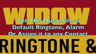 Black Widow Ringtone and Alert.