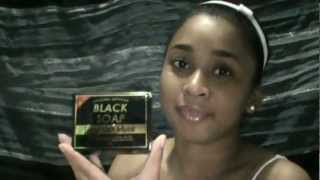 REVIEW: Original African BLACK SOAP (EGYPTIAN MUSK)