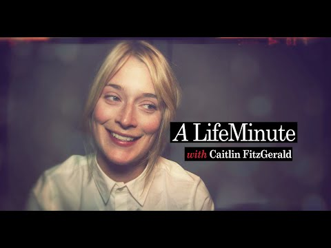 A LifeMinute with Caitlin FitzGerald