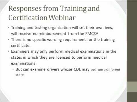Acoem Webinar - What You Need To Know About The Nrcme - Youtube