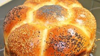 Yumusacik pamuk gibi çiçek ekmek tarifi