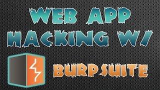 Web App Hacking CTF w/ Burp Suite