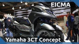 2019 Yamaha 3CT Concept - EICMA 2018