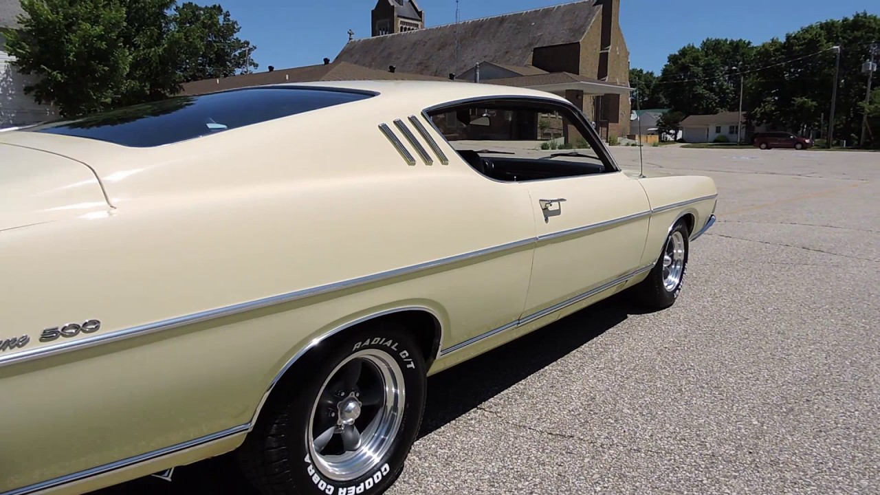 1969 Ford Fairlane 500 Yellow For Sale At Coyoteclassics Com