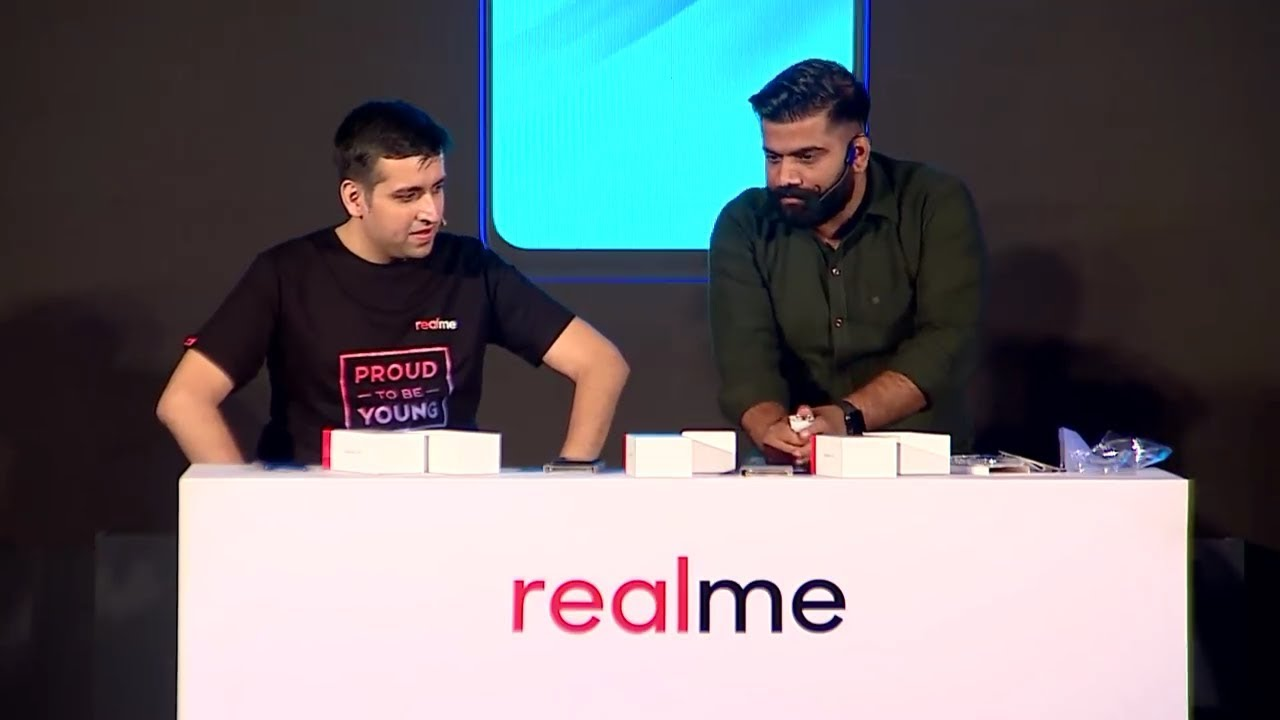 Realme 2 Pro live unboxing by Technical Guruji  with Ceo of Realme