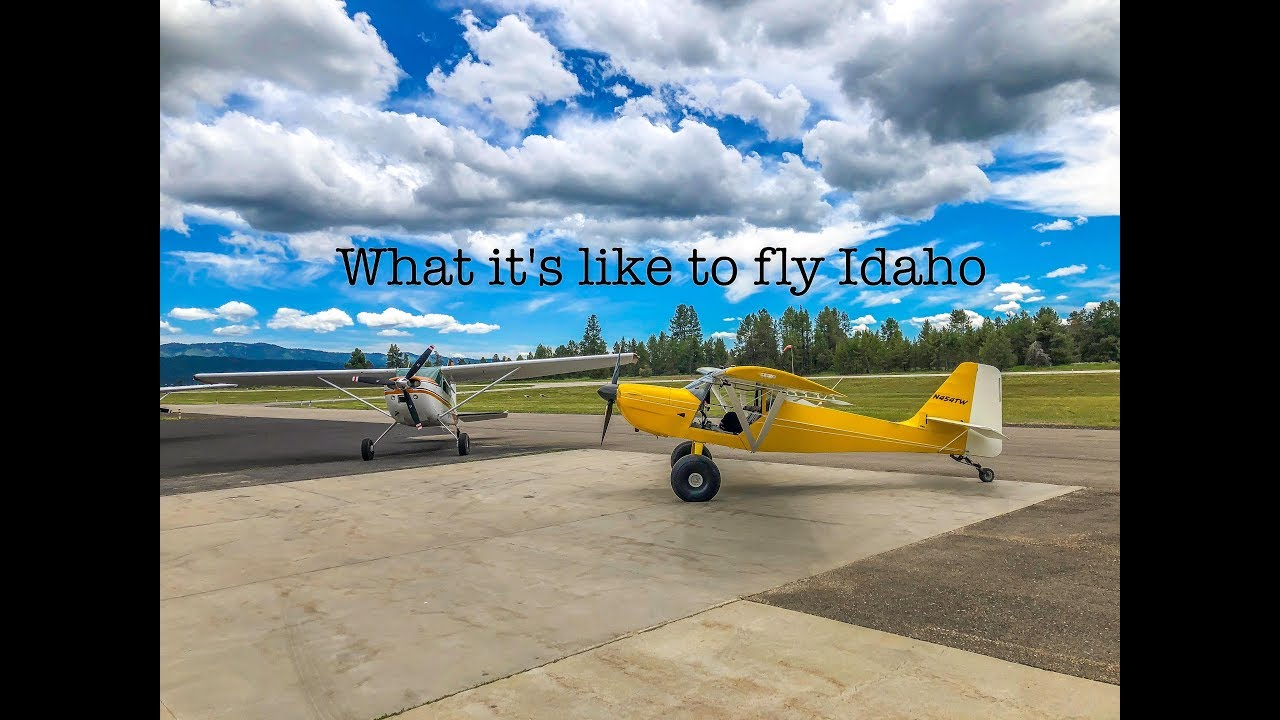 What it's like to fly Idaho