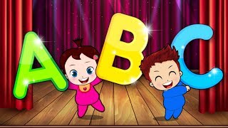 Cartoons Sun & Moon Sing ABC SONG | ABC Songs for Children - Popular Kids Songs by Angel Kids Song