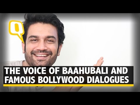 The Quint: The Voice of Baahubali Tries on Some Famous Bollywood Dialogues