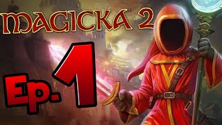 Magicka 2 (PS4/PC) - Episode 1 - Learning To Spell (Let