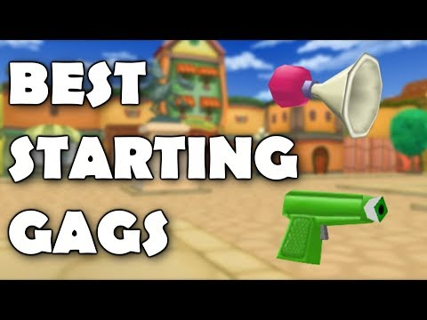 ToonTown Corporate Clash: Best Starting Gags