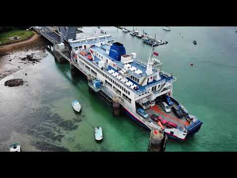 Wightlink Fishbourne Ferry Terminal - Mavic Pro