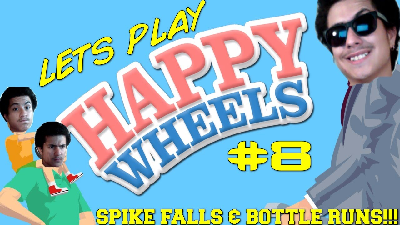 Let 39 s play happy wheels part 8 spike falls bottle - Let s play happy wheels ...