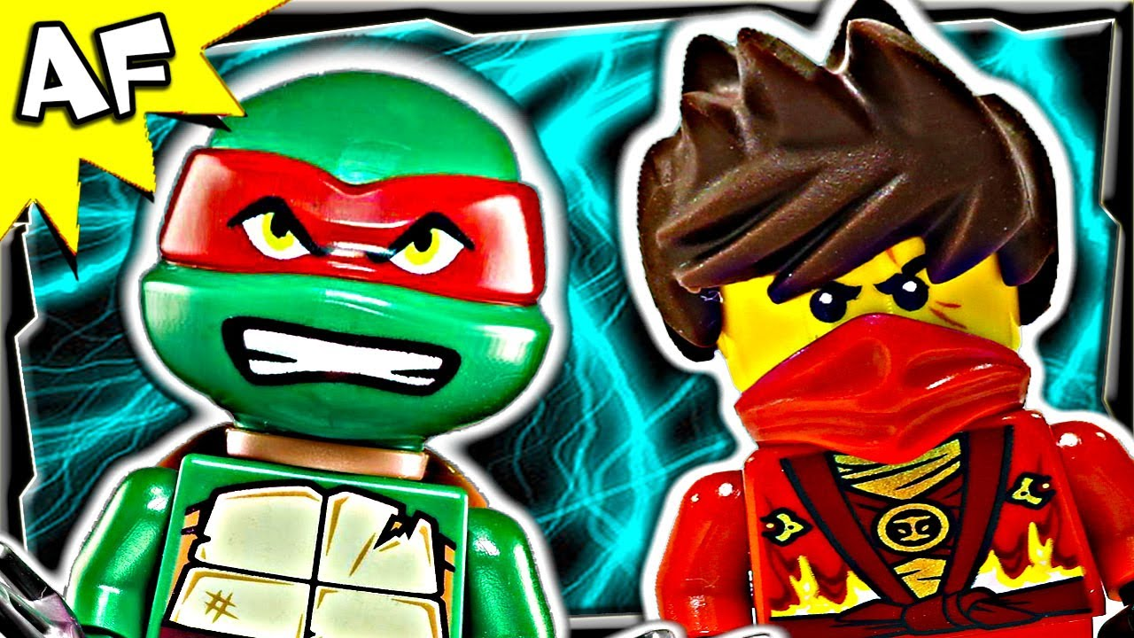 Ninjago kai vs raphael tmnt lego crossover battle 5 - Ninjago vs ninjago ...