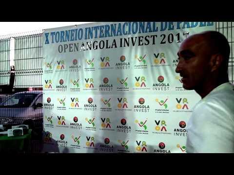 Padel Wall: Open Angola Invest - Entrega de prémios de F1