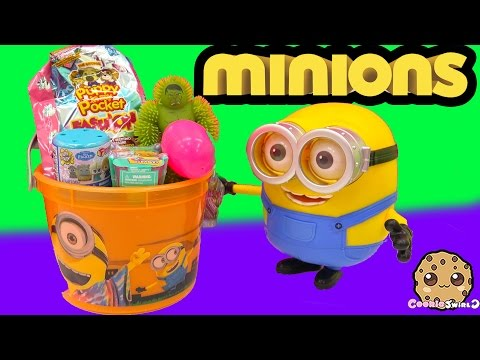 Mcdonalds Happy Meal Minions Blind Bag Surprise Pail - Frozen Fash'ems, Shopkins Season 3 + More