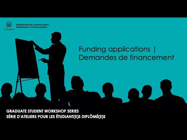 Graduate Student Workshop - Sept 16 2020 I Atelier pour les étudiant(e)s diplômé(e)s - 16 sept 2020